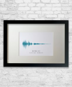Personalised Laugh Sound Wave