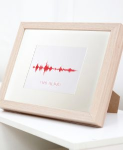 Sound Wave Frames